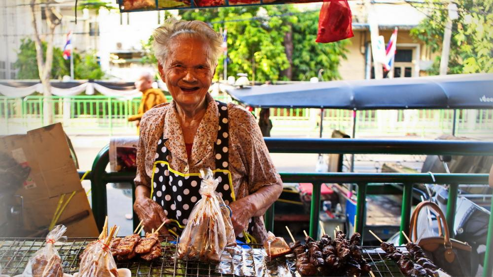 Bangkok Markt von Herbert