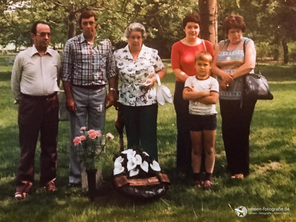 Mit der Familie in Bastogne
