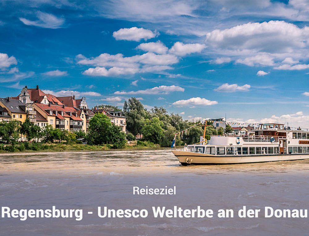 Regensburg – Unesco Welterbe an der Donau (Werbung)
