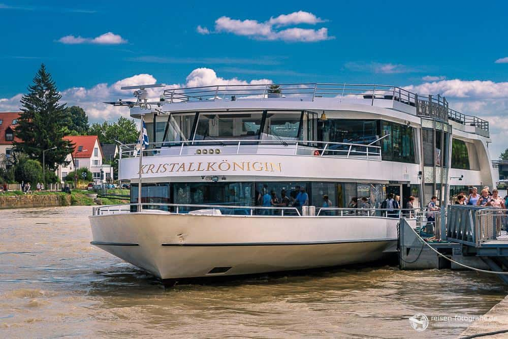 Unser Boot zur Walhalla