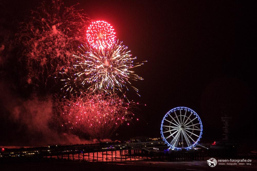 Feuerwerk in Scheveningen