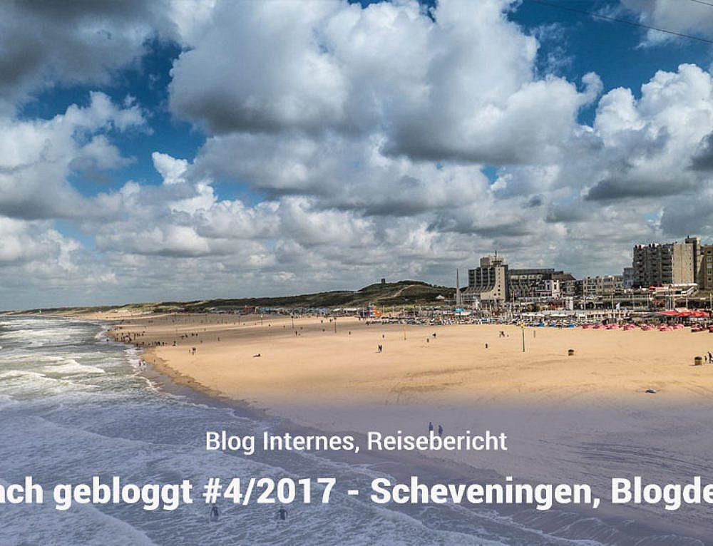 Einfach gebloggt – #4/2017 – Feuerwerk in Scheveningen, Blogdesign