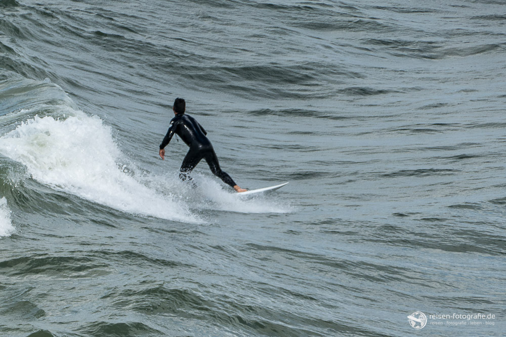 Wellenreiten in Scheveningen