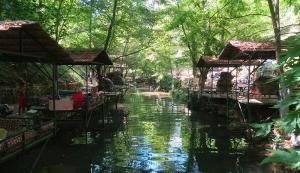 Flussrestaurant Taurusgebirge Alanya ObA
