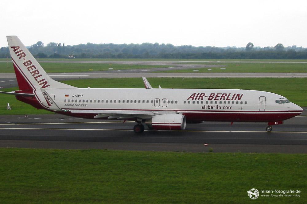 Das erste Air Berlin Foto
