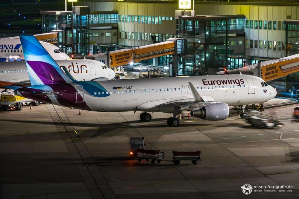 Eurowings A320 (vom Stativ)