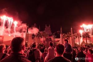 Hollywood Studios Feuerwerk am Abend