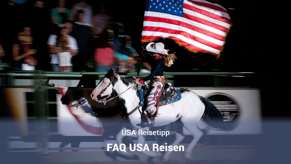 FAQ USA Reisen Titel