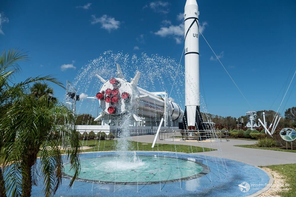 Raketenpark im Kennedy Space Center