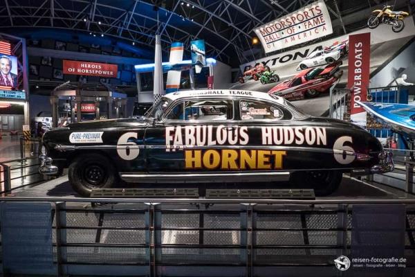Hudson Hornet im Museum