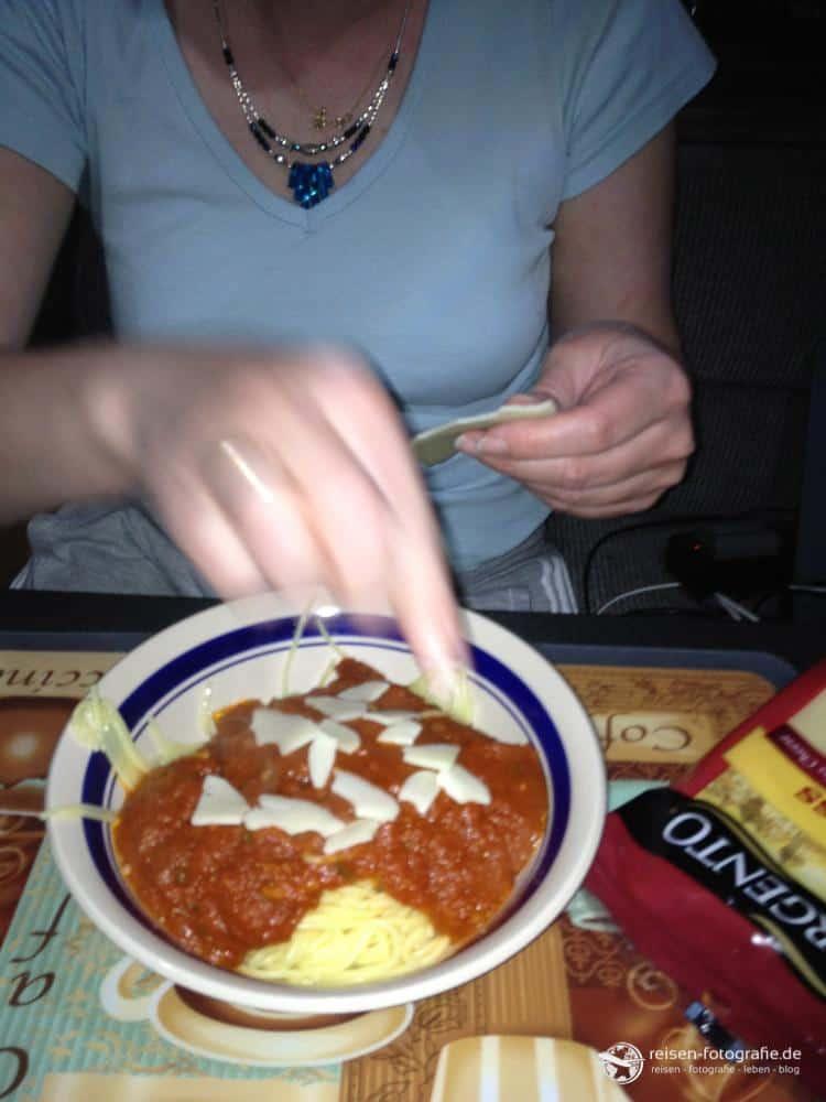 Nudel - mit Käse druff
