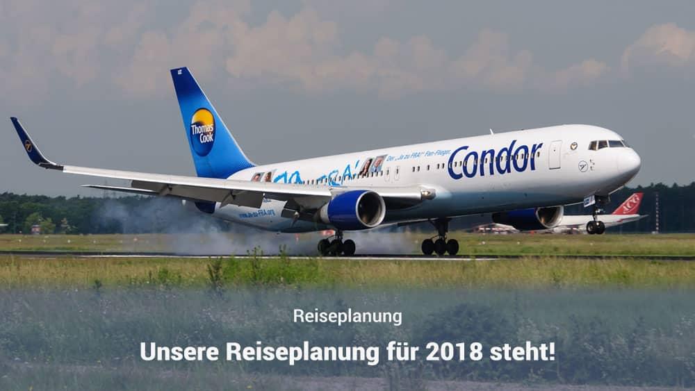 Reiseplanung 2018