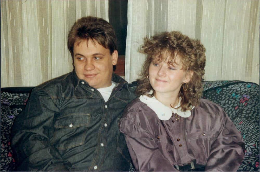 Melanie und Thomas - 1990