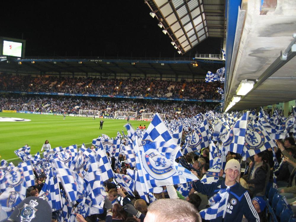 Mit Schalke bei Chelsea