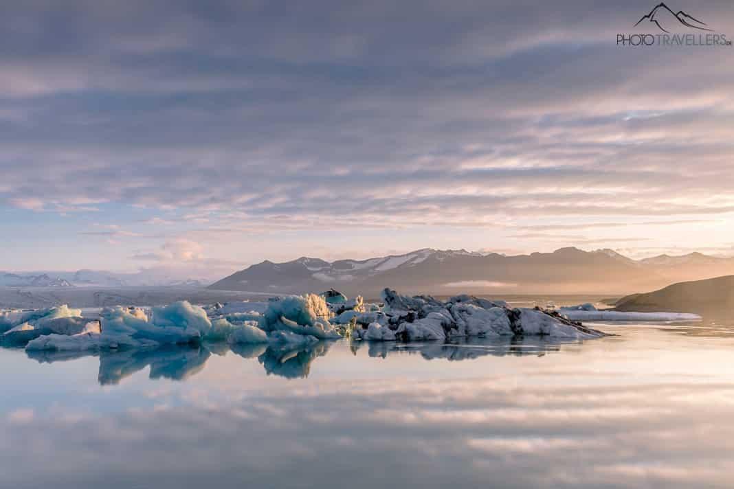 Island Gletscherlagune