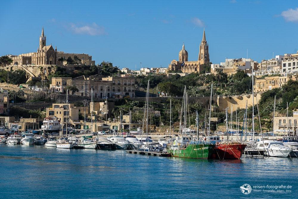 Hafen von Gozo