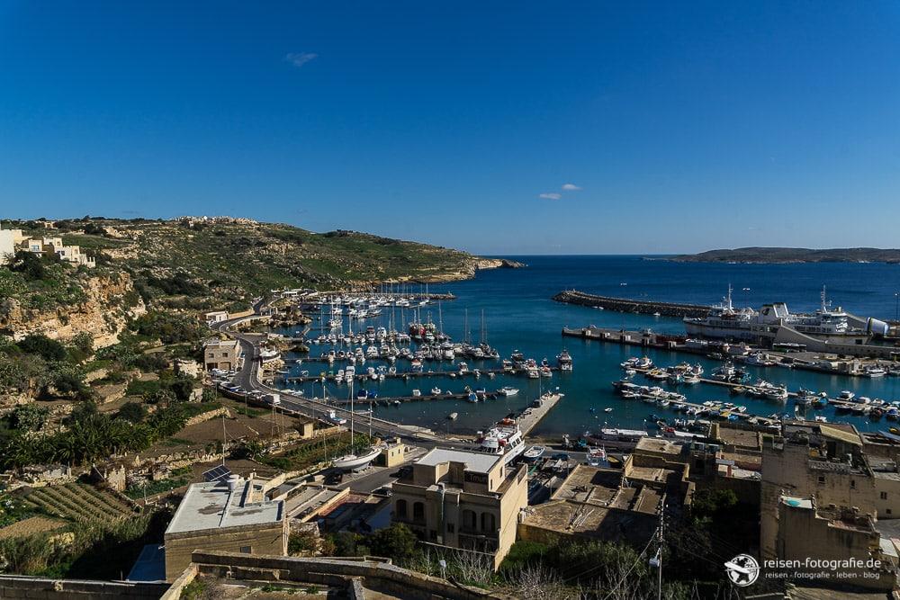 Mgarr Hafen auf Gozo