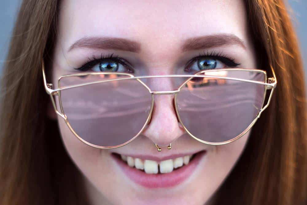 Marie Lü Portrait Augen Blau