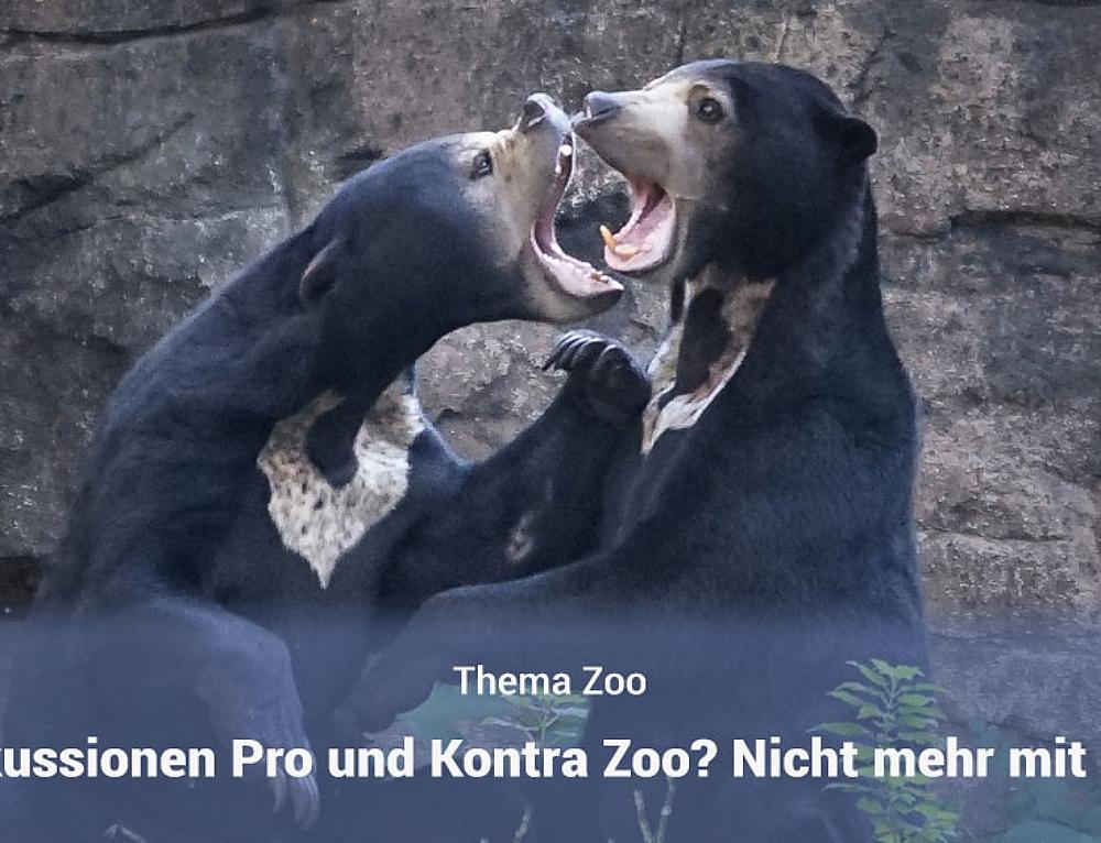 Warum wir an keiner Pro und Kontra Zoo Diskussion mehr teilnehmen