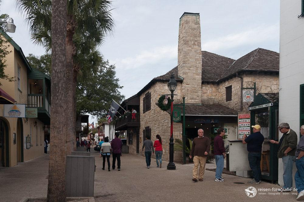 St. Georg Street in St. Augustine