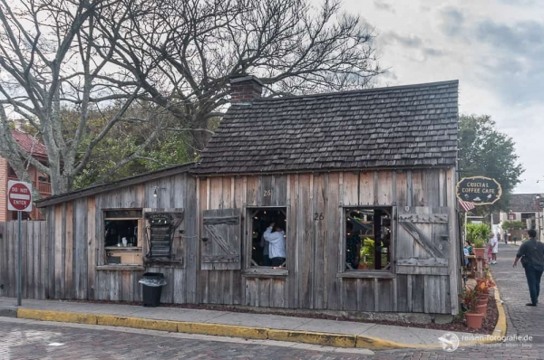 Altes Cafehaus in St. Augustine