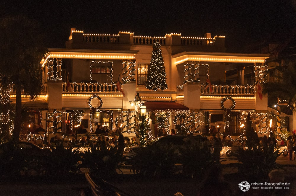 St. Augustine - Weihnachtsbeleuchtung