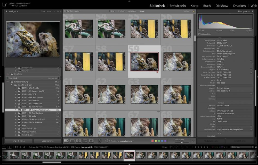 Fotos fürs Web optimieren - Auswahl der BilderFotos fürs Web optimieren - Auswahl der Bilder