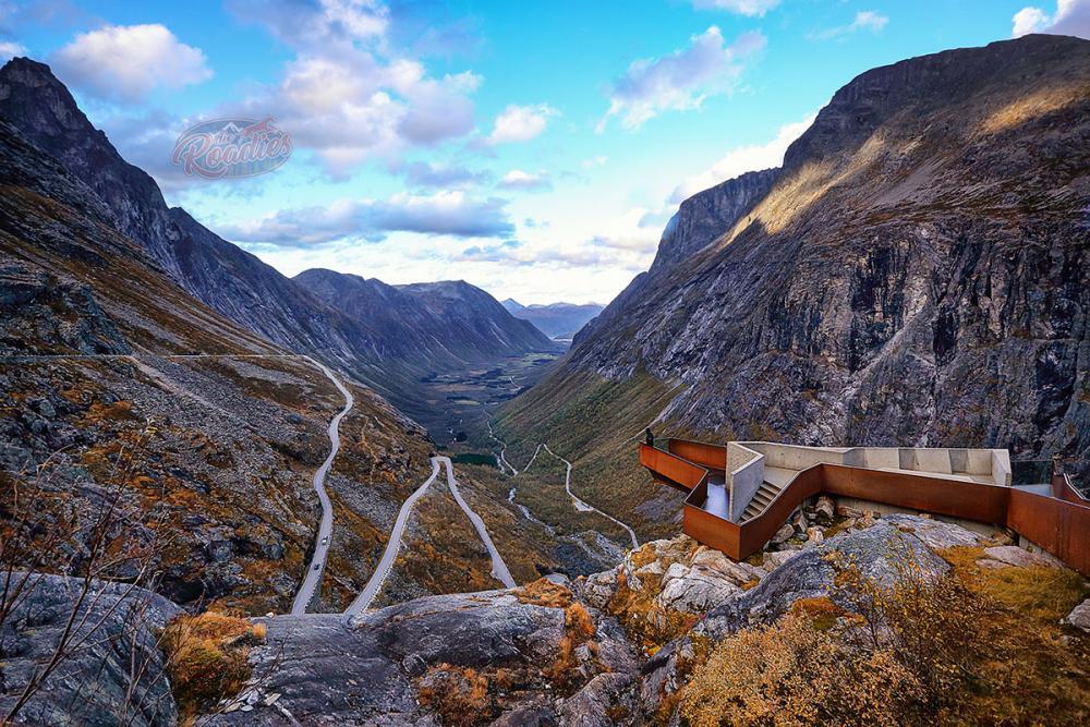 Lieblingsbild 2 Trollstigen Geiranger Norwegen