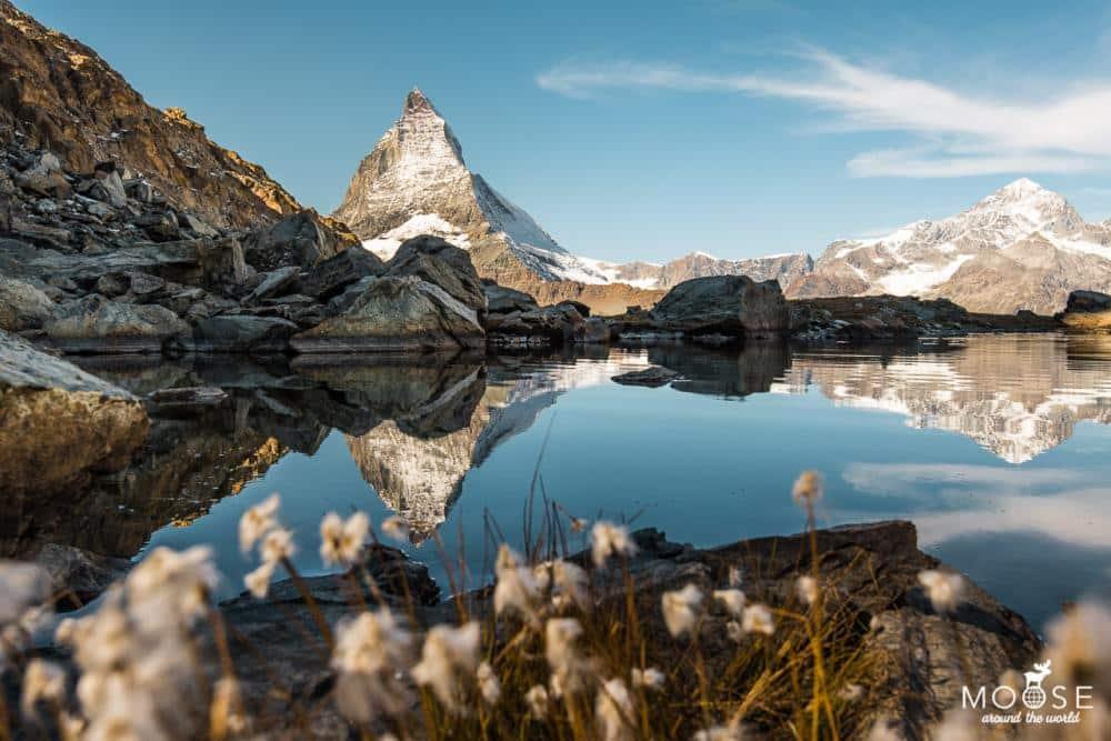 Zermatt Gornergrat Riffelsee