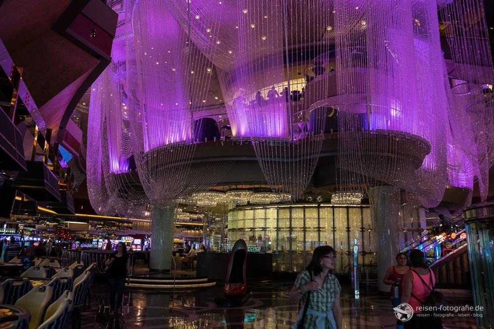 Bar im Casinobereich des Cosmopolitan