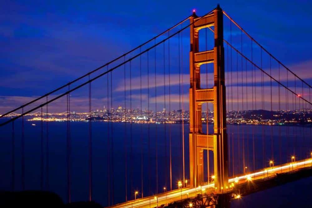 USA Golden Gate von Foto-Reise-Welt