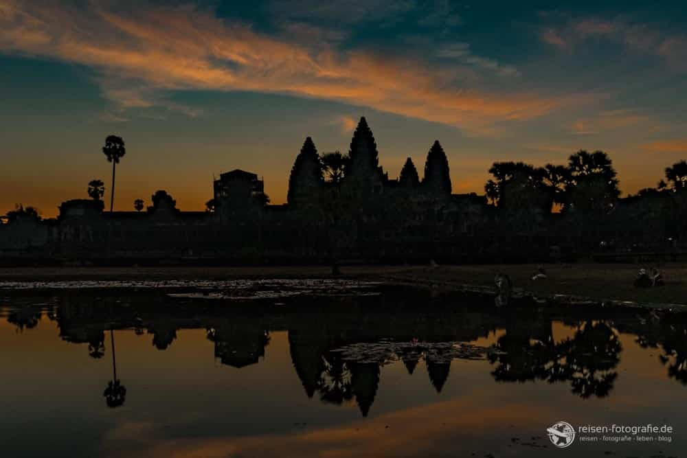 Sonnenaufgang am Angkor Wat