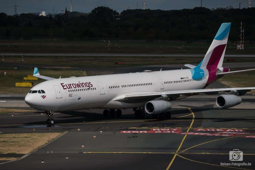 Eurowings Airbus A340-313