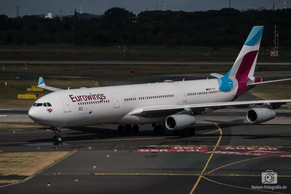 Eurowings Airbus A340-313