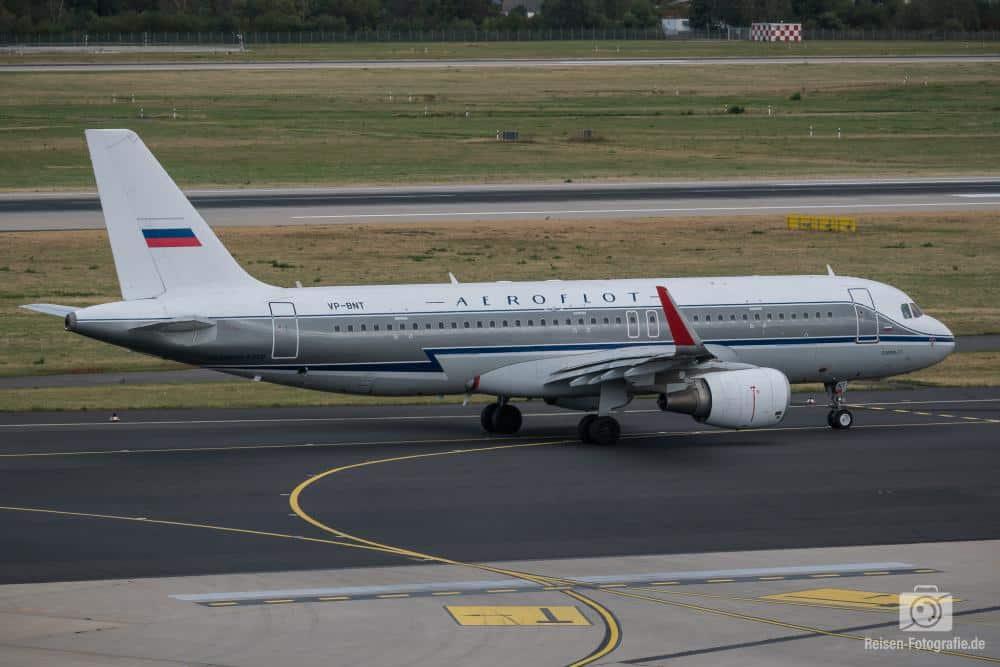 Aeroflot Airbus A320 im Retro-Design