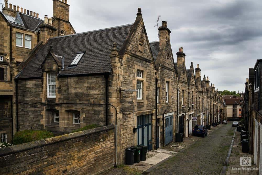 Häuserzeilen in Edinburgh