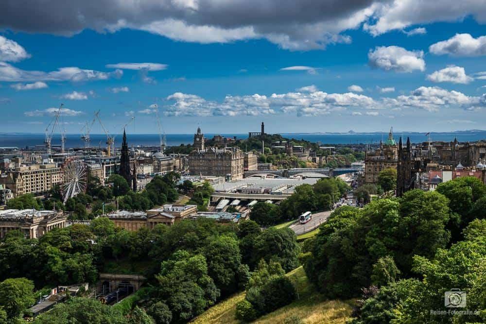 Edinburgh Aussicht