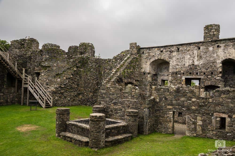 Ein Castle in Schottland