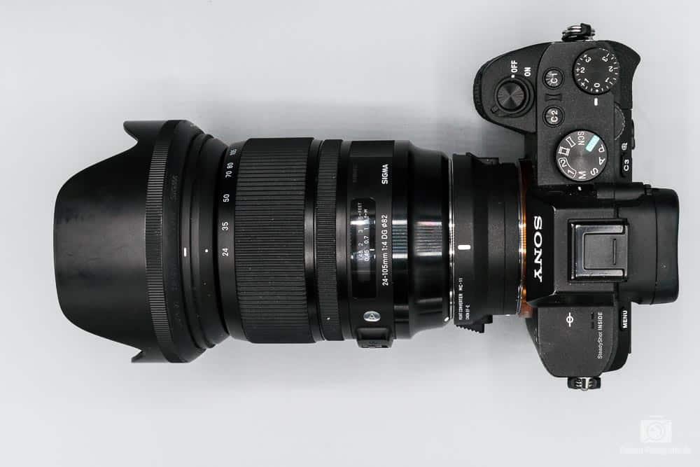 Sony Alpha 7 - Sigma 24-105 Art