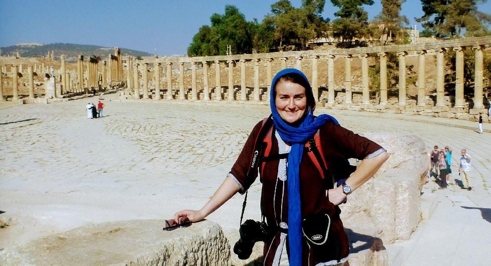 Ilona in Jordanien