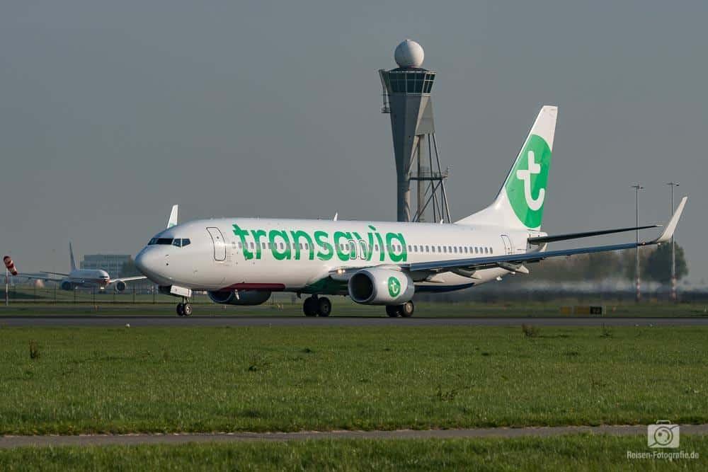 Transavia Airlines Boeing 737-8K2