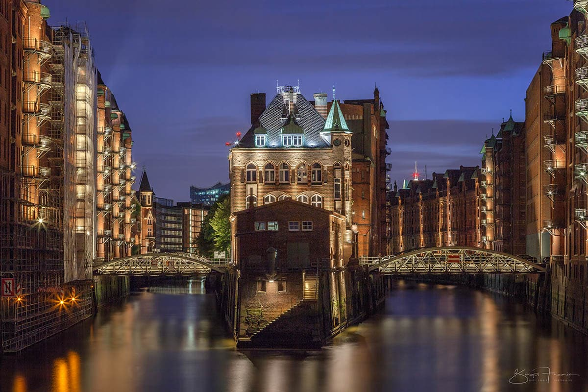 Das Wasserschlößchen in Hamburg