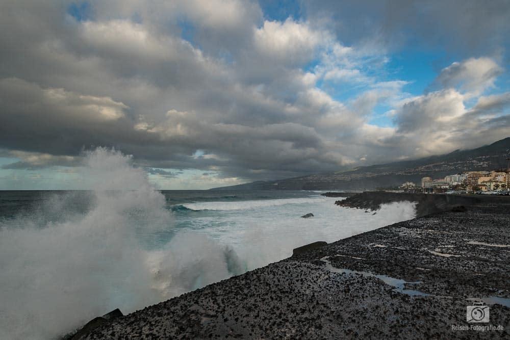 An der Küste von Puerto de la Cruz