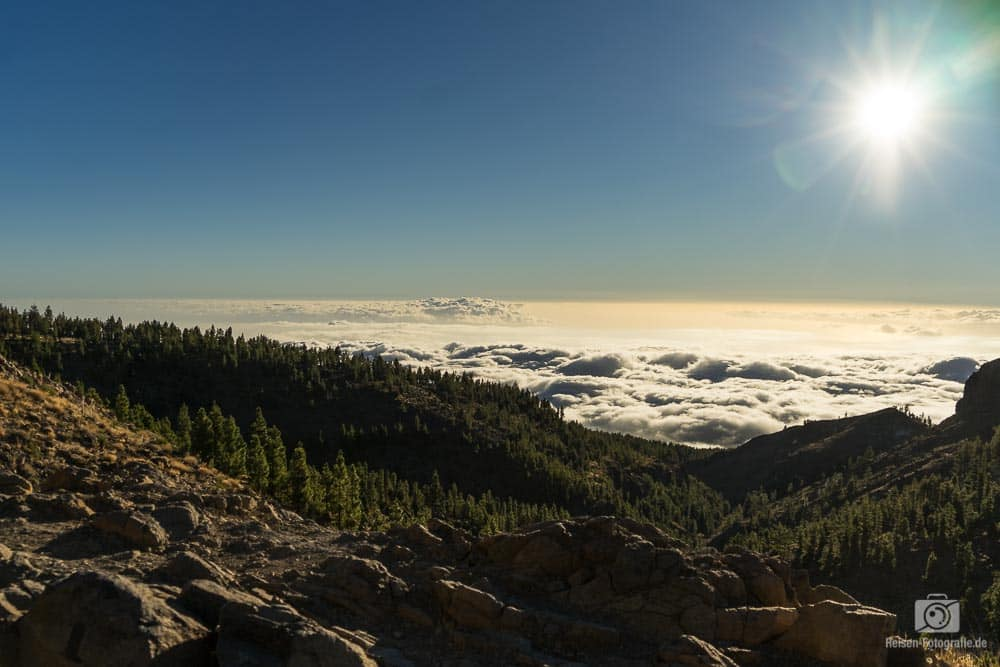 Sonnenuntergang am Teide