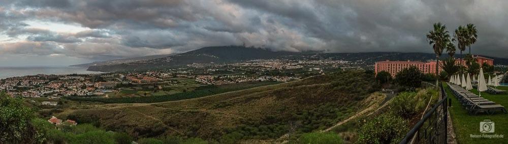 Panorama Puerto de la Cruz