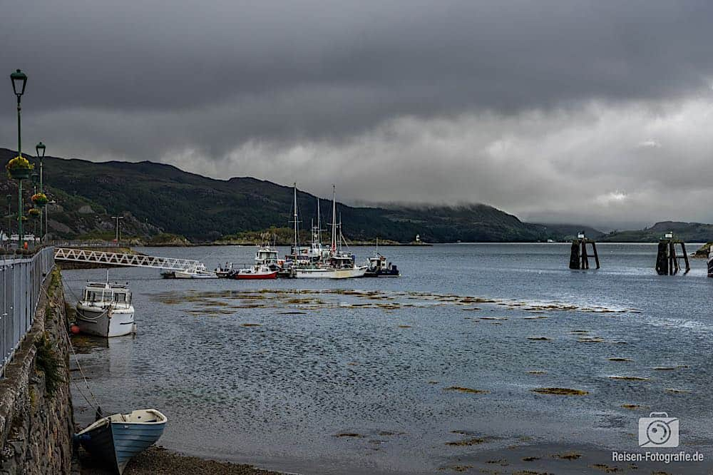 Hafen in Kyleakin