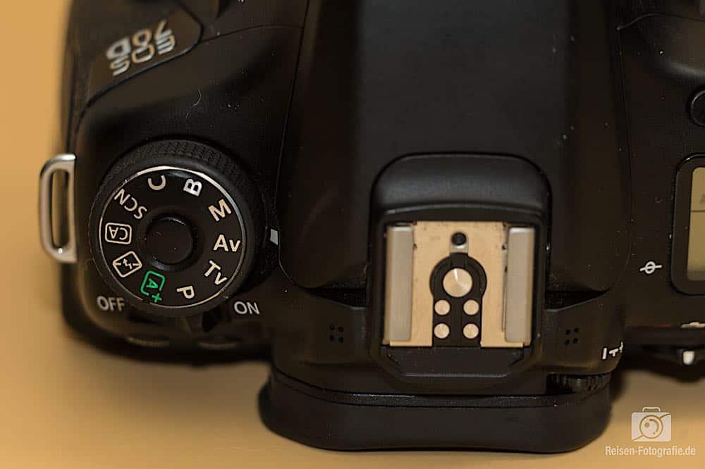 Canon 70D Modus-Wahlrad