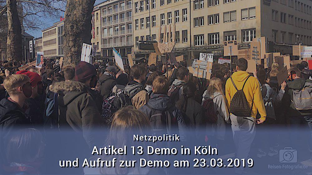 Artikel 13 Demo – Rückschau und Aufruf