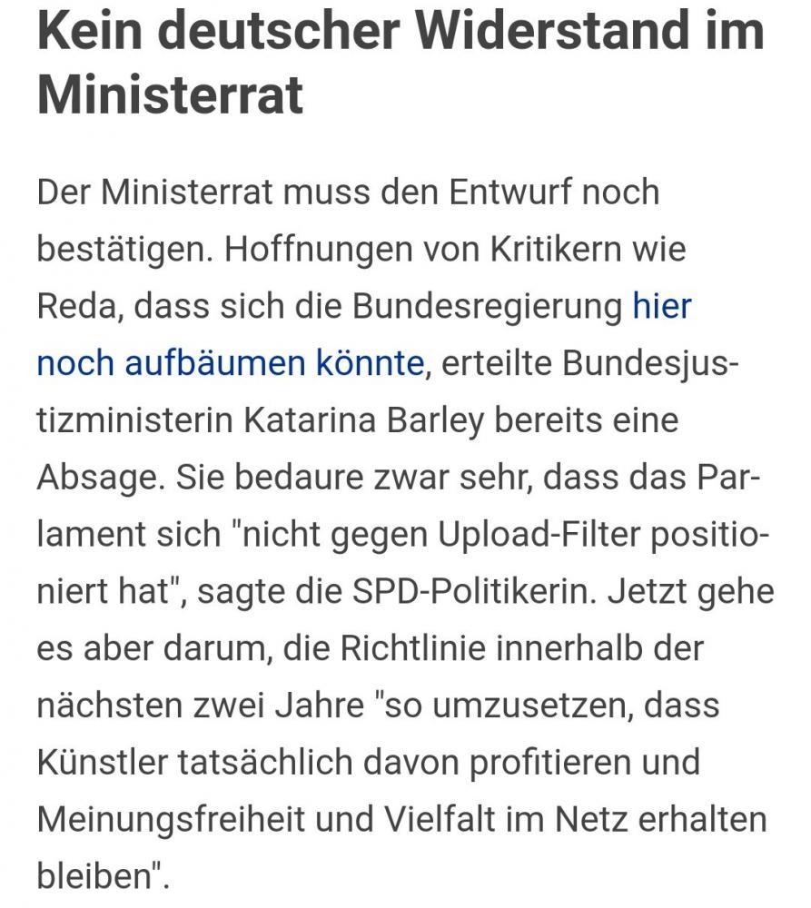 barley Ministerrat