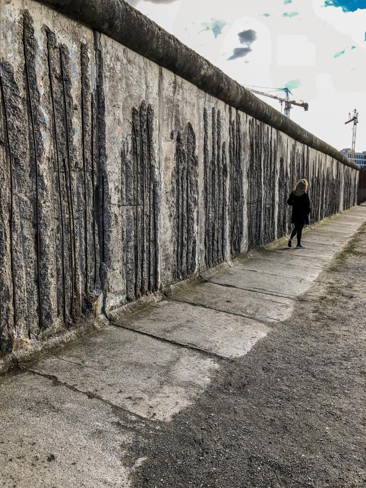 Die Mauer aus dem Westen